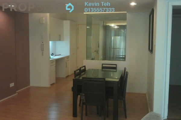 For Rent Condominium at i-Zen Kiara I, Mont Kiara Freehold Semi Furnished 2R/2B 3.1k