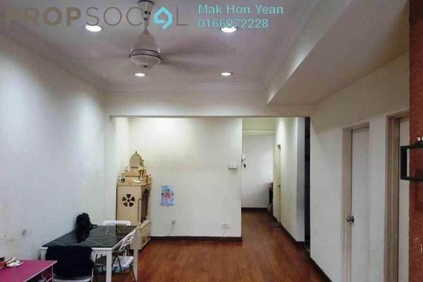 For Sale Condominium at Jati 1 Apartment, Subang Jaya Freehold Semi Furnished 3R/2B 415k
