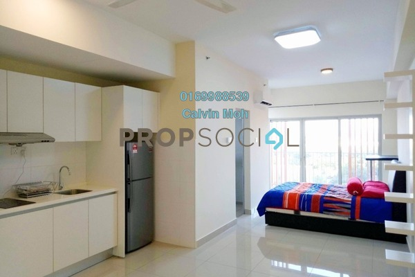 For Rent Serviced Residence at Suria Jelutong, Bukit Jelutong Freehold Fully Furnished 1R/1B 1.1k