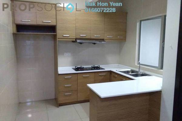 For Rent Condominium at Zen Residence, Puchong Freehold Semi Furnished 3R/2B 1.5k