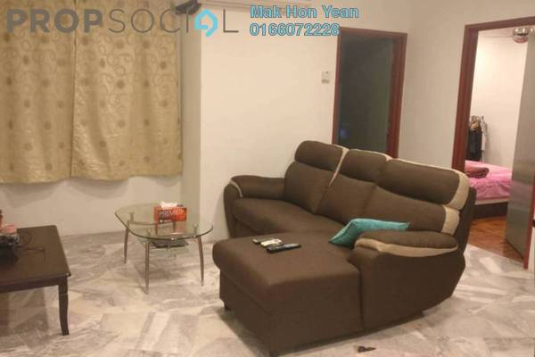For Sale Apartment at Semarak Apartment, Puchong Freehold Semi Furnished 3R/2B 230k