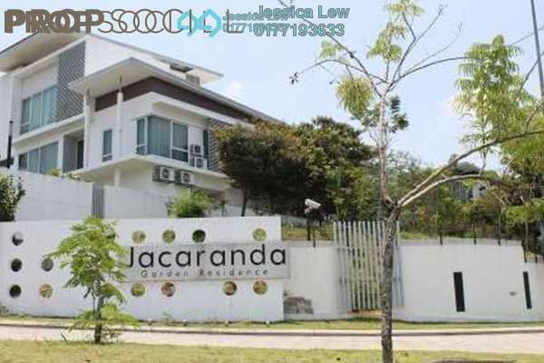 For Rent Semi-Detached at Garden Residence, Cyberjaya Freehold Semi Furnished 5R/5B 3.5k