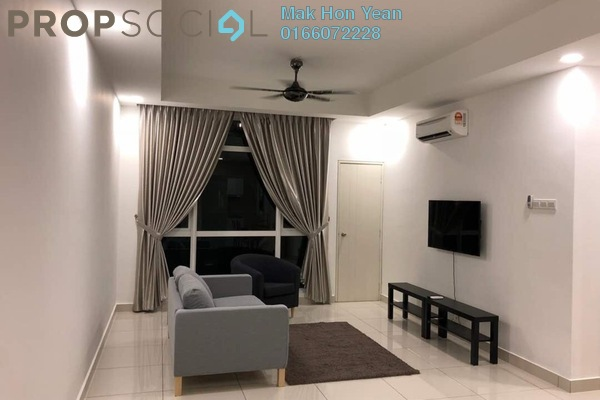 For Sale Condominium at Central Residence, Sungai Besi Freehold Semi Furnished 2R/2B 660k