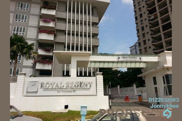 For Sale Condominium at Royal Regent, Dutamas Freehold Semi Furnished 2R/2B 550k