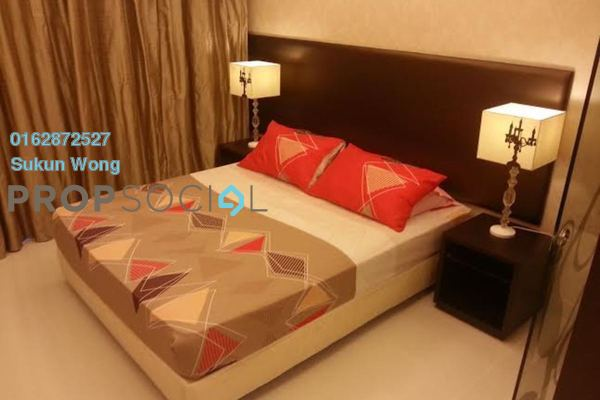 For Rent Condominium at Plaza Damas 3, Sri Hartamas Freehold Fully Furnished 1R/1B 2.1k