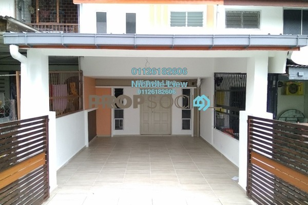 For Sale Link at Taman Ria, Kajang Freehold Unfurnished 3R/2B 395k