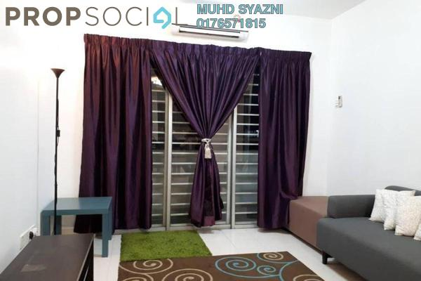 For Sale Apartment at Alam Prima, Shah Alam Freehold Semi Furnished 3R/2B 370k