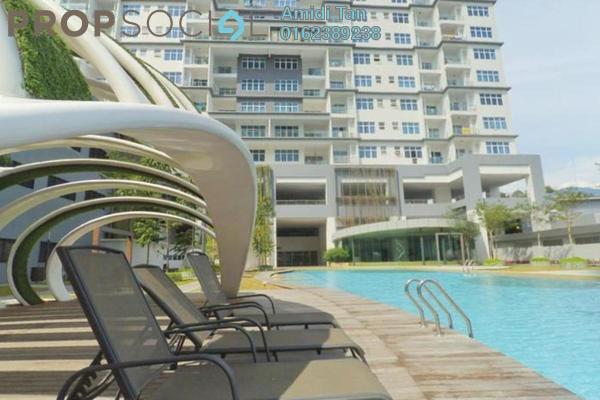 For Rent Condominium at Skypod, Bandar Puchong Jaya Freehold Semi Furnished 2R/2B 1.4k
