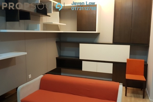 For Sale Condominium at VERVE Suites, Mont Kiara Freehold Fully Furnished 1R/2B 600k