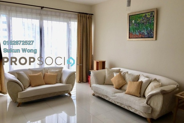 For Rent Condominium at Kiara 1888, Mont Kiara Freehold Fully Furnished 3R/2B 3k