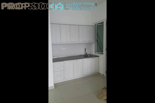 For Rent Condominium at Mercury Serviced Apartment @ Sentul Village, Sentul Freehold Semi Furnished 3R/2B 1.55k