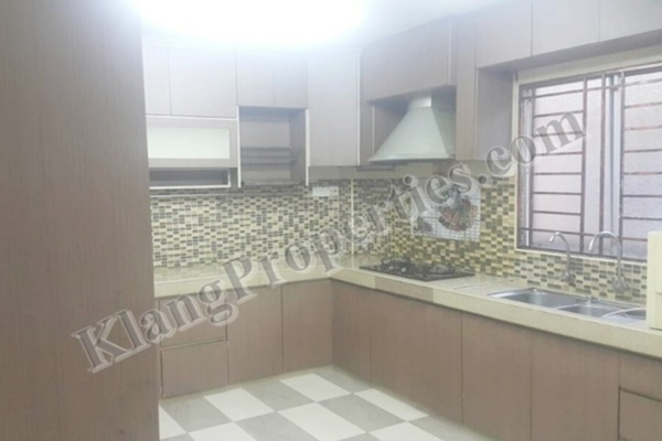 For Sale Terrace at Bandar Botanic, Klang Freehold Fully Furnished 4R/3B 780k