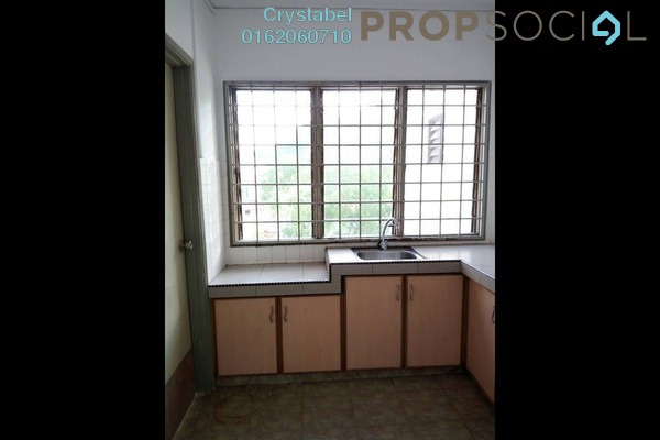 For Rent Apartment at Segar Apartments, Cheras Freehold Semi Furnished 3R/2B 1.1k