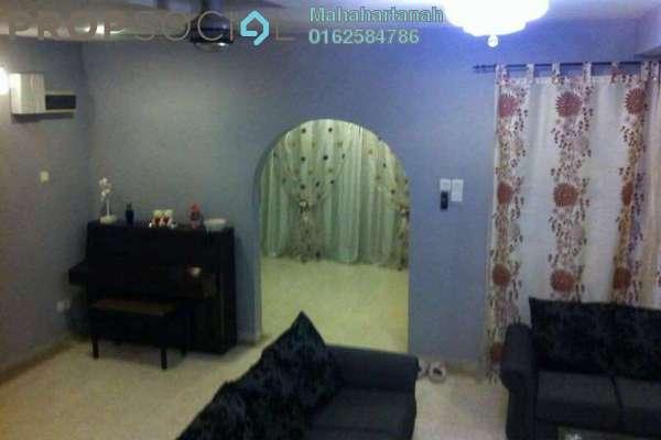 For Sale Terrace at Taman Bukit Anggerik, Cheras South Freehold Semi Furnished 4R/3B 820k