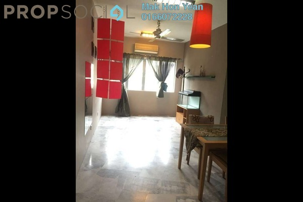 For Sale Apartment at Sri Cempaka Apartment, Bandar Puteri Puchong Freehold Semi Furnished 3R/2B 330k