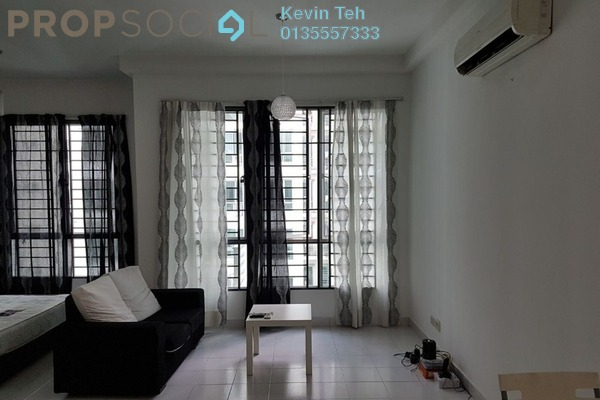 For Sale Condominium at Casa Tiara, Subang Jaya Freehold Fully Furnished 1R/1B 350k