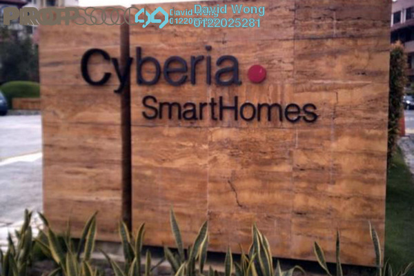 For Rent Condominium at Cyberia SmartHomes, Cyberjaya Freehold Semi Furnished 3R/2B 1.1k
