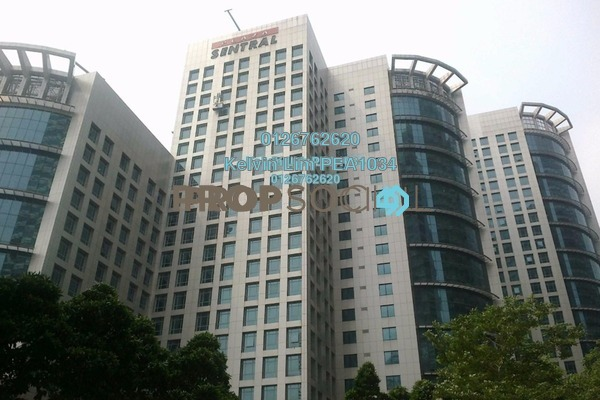 For Rent Office at Plaza Sentral, KL Sentral Freehold Unfurnished 1R/1B 11k