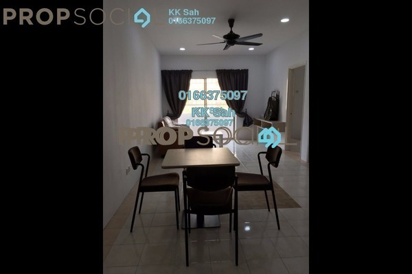 For Sale Condominium at Prima Bayu, Klang Freehold Semi Furnished 3R/2B 279k