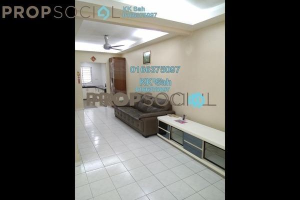 For Sale Terrace at Bandar Damai Perdana, Cheras South Freehold Semi Furnished 4R/3B 588k