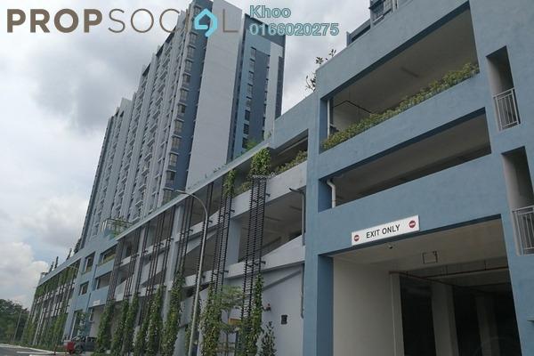 For Rent Condominium at Green Park, Seri Kembangan Freehold Semi Furnished 3R/2B 1.3k