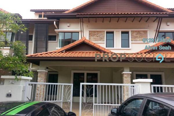 For Sale Terrace at Nukilan, Alam Impian Freehold Unfurnished 4R/4B 950k