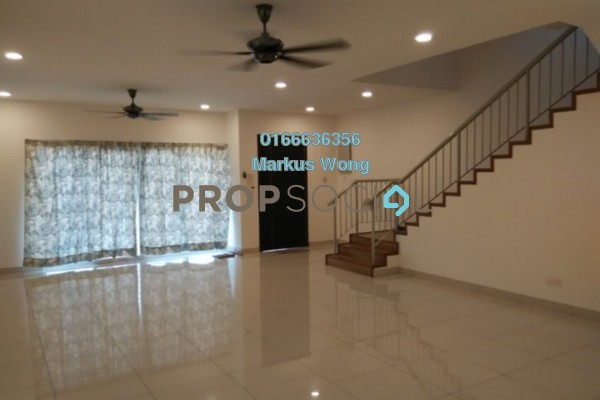 For Rent Terrace at Seri Jalil, Bukit Jalil Freehold Semi Furnished 6R/7B 3k