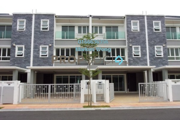 For Rent Terrace at Seri Jalil, Bukit Jalil Freehold Semi Furnished 6R/7B 3.8k