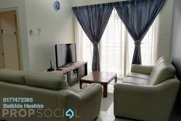 For Rent Condominium at TTDI Adina, Shah Alam Freehold Fully Furnished 2R/2B 1.8k