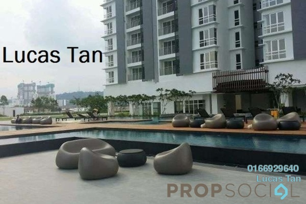 For Sale Condominium at Vina Versatile Homes, Cheras South Freehold Semi Furnished 3R/2B 470k