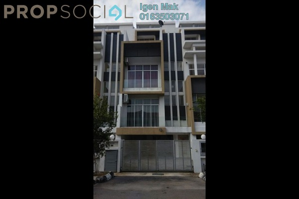 For Rent Terrace at Happy Garden, Old Klang Road Freehold Semi Furnished 5R/6B 3.5k