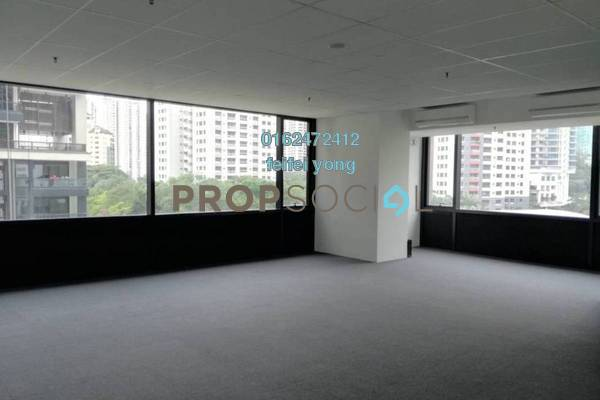 For Rent Office at Arcoris, Mont Kiara Freehold Semi Furnished 0R/1B 3.2k