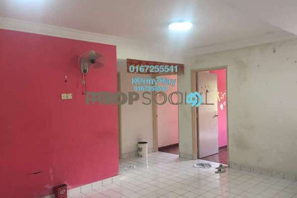 For Sale Condominium at Desa Dua, Kepong Freehold Semi Furnished 3R/2B 280k