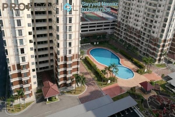 For Sale Condominium at De Centrum Unipark Condominium, Kajang Freehold Semi Furnished 4R/2B 398k