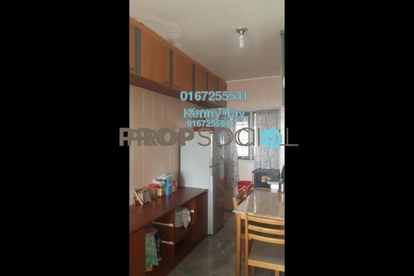 For Sale Apartment at Nilam Apartment, Segambut Freehold Semi Furnished 2R/1B 325k