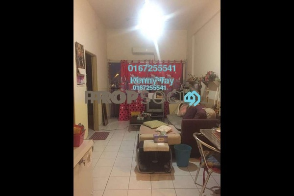 For Sale Condominium at Plaza Sinar, Segambut Freehold Semi Furnished 2R/1B 260k