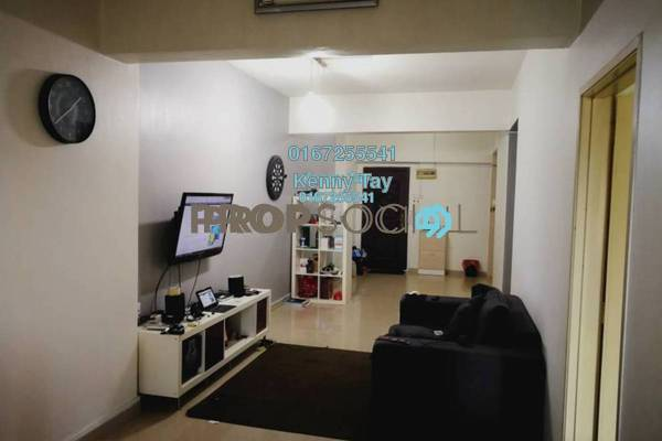 For Sale Condominium at Kepong Central Condominium, Kepong Freehold Fully Furnished 3R/2B 330k