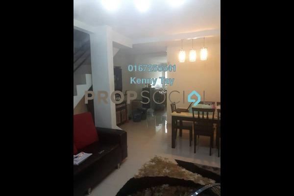 For Sale Terrace at Taman Selayang Utama, Selayang Freehold Semi Furnished 4R/3B 365k