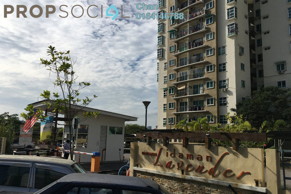 For Sale Apartment at Idaman Lavender, Sungai Ara Freehold Unfurnished 3R/2B 320k