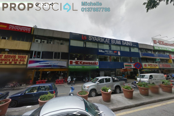 For Sale Shop at Taman Sri Kuching, Jalan Ipoh Leasehold Fully Furnished 3R/3B 2.3m