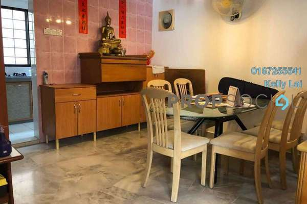 For Sale Terrace at Kepong Ulu, Kepong Leasehold Semi Furnished 4R/3B 470k