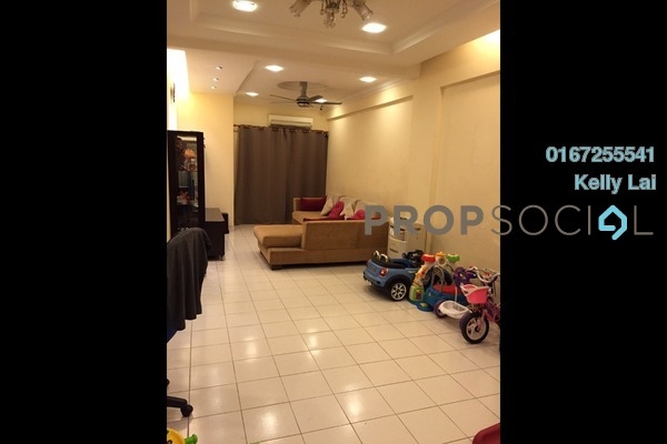For Sale Condominium at Fortune Avenue, Kepong Freehold Semi Furnished 3R/2B 515k