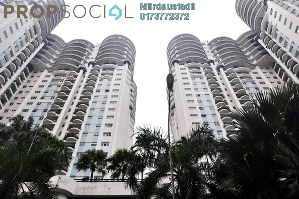 For Sale Condominium at Villa Scott, Brickfields Freehold Fully Furnished 4R/3B 880k