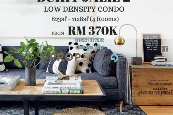 For Sale Condominium at Zenopy Residence, Seri Kembangan Freehold Unfurnished 3R/2B 370k