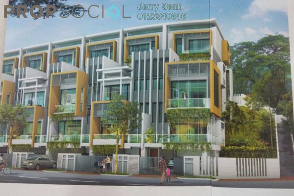 For Rent Superlink at Happy Garden, Old Klang Road Freehold Semi Furnished 5R/6B 3.7k