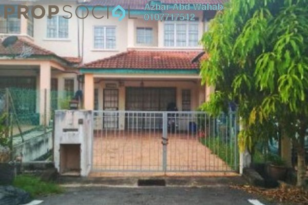 For Sale Terrace at Bandar Tasik Puteri, Rawang Freehold Semi Furnished 4R/3B 360k