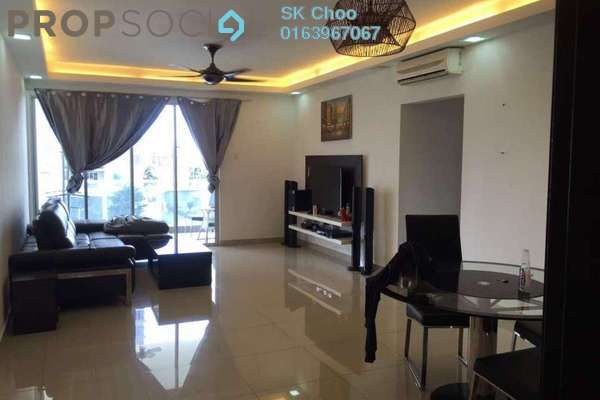 For Sale Condominium at Zen Residence, Puchong Freehold Fully Furnished 3R/2B 590k