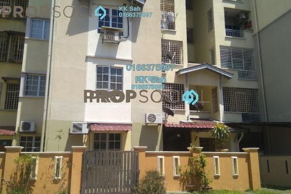 For Sale Apartment at Kasuarina Apartment, Klang Freehold Semi Furnished 3R/2B 270k