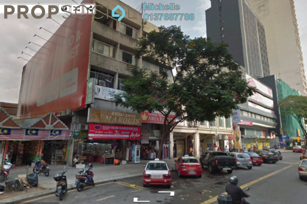 For Sale Shop at Jalan Tuanku Abdul Rahman, Chow Kit Freehold Fully Furnished 3R/3B 15m