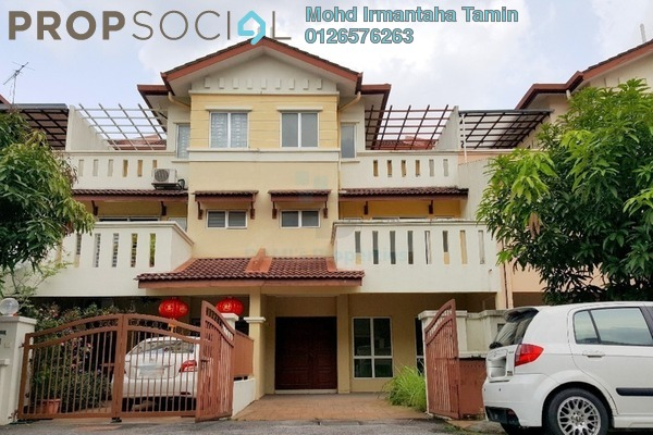 For Sale Terrace at Kinrara Mas, Bukit Jalil Freehold Unfurnished 6R/4B 970k